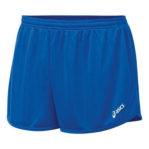 Mens ASICS Rival II 1/2 Split Lined Shorts - Royal M
