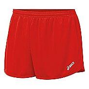 Mens ASICS Rival II 1/2 Split Lined Shorts