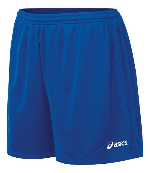 Womens ASICS Rival II Unlined Shorts - Royal S