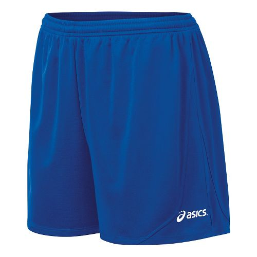 Womens ASICS Rival II Unlined Shorts - Royal L