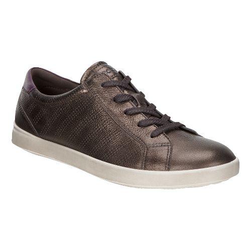 Womens Ecco Aimee Sport Tie Casual Shoe - Licorice/Mauve 41