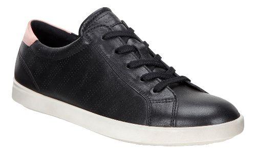 Womens Ecco Aimee Sport Tie Casual Shoe - Black/Silver 40