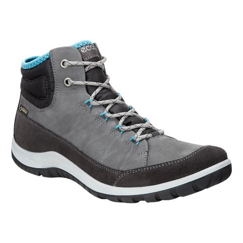 Womens Ecco Aspina GTX High Casual Shoe - Moonless 35