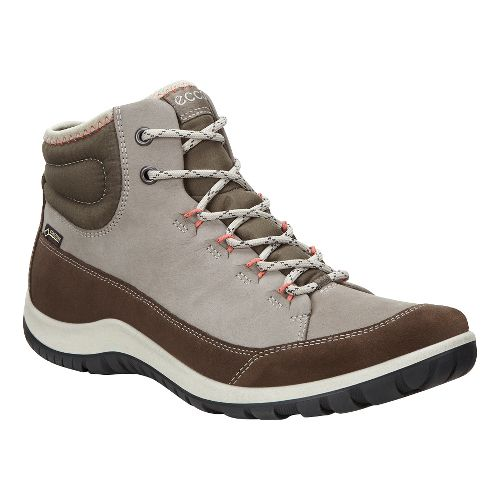 Womens Ecco Aspina GTX High Casual Shoe - Dark Clay 35