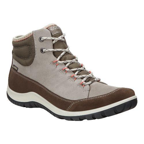 Womens Ecco Aspina GTX High Casual Shoe - Dark Clay 36