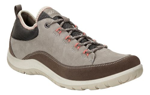 Womens Ecco Aspina Low Casual Shoe - Dark Clay 39