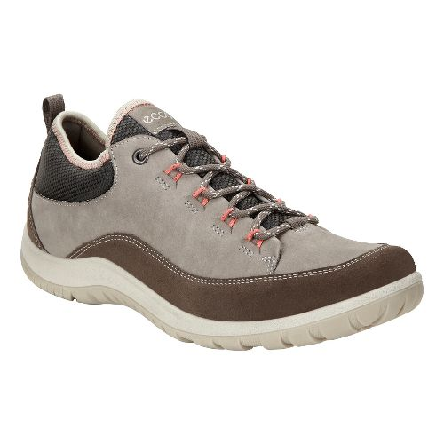 Womens Ecco Aspina Low Casual Shoe - Dark Clay 37