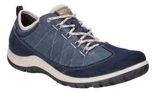 Womens Ecco Aspina Low GTX Casual Shoe - Marine 39