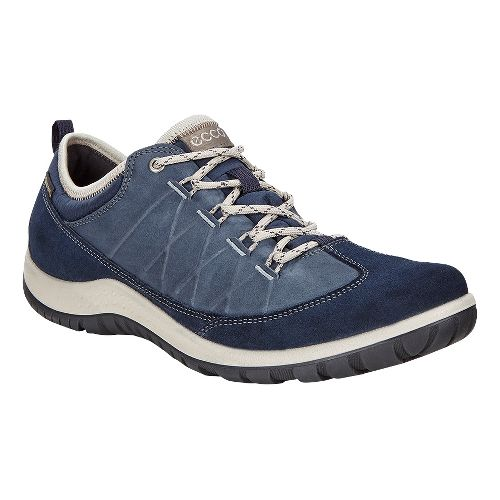 Womens Ecco Aspina Low GTX Casual Shoe - Marine 36