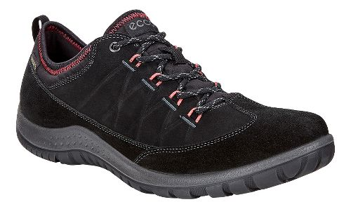 Womens Ecco Aspina Low GTX Casual Shoe - Black 38
