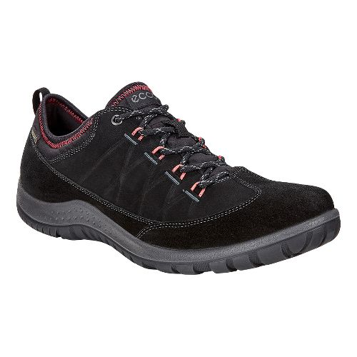 Womens Ecco Aspina Low GTX Casual Shoe - Black 40