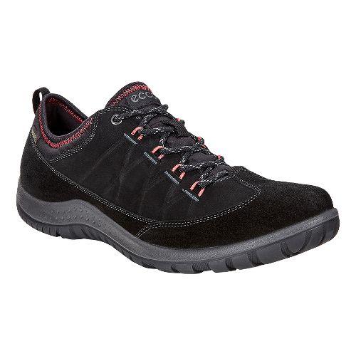 Womens Ecco Aspina Low GTX Casual Shoe - Black 41