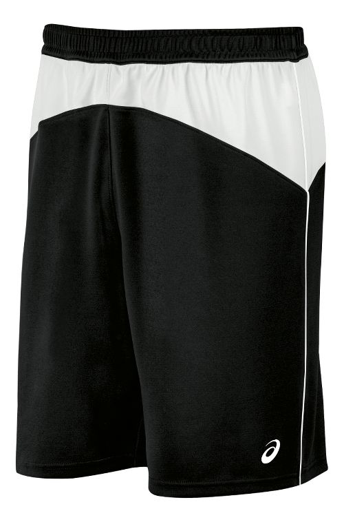 Mens ASICS X-Over Unlined Shorts - Black/White XL