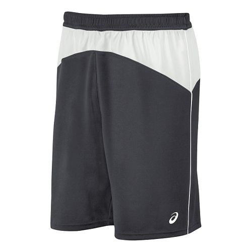 Mens ASICS X-Over Unlined Shorts - Steel Grey/White M