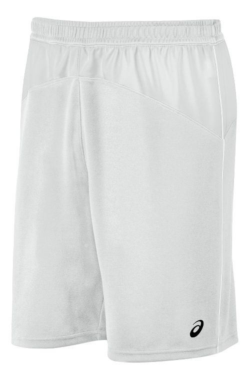 Mens ASICS X-Over Unlined Shorts - White/White XL