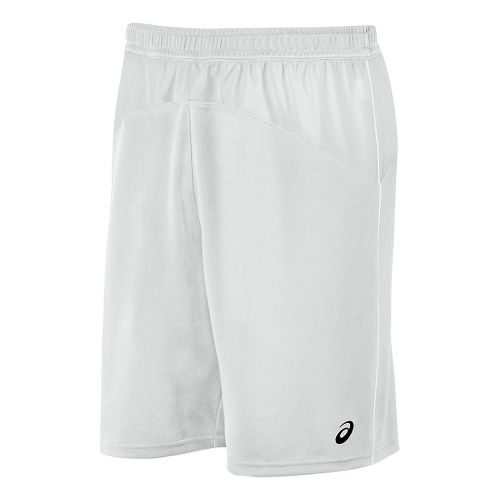 Mens ASICS X-Over Unlined Shorts - White/White M