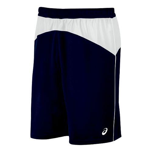 Mens ASICS X-Over Unlined Shorts - Navy/White S