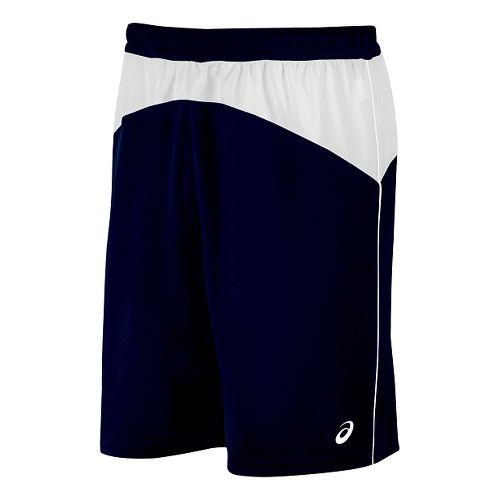 Mens ASICS X-Over Unlined Shorts - Navy/White XL