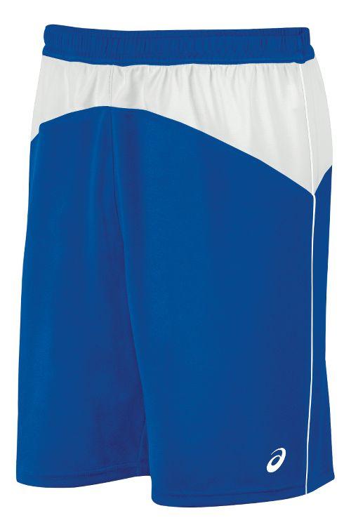 Mens ASICS X-Over Unlined Shorts - Royal/White L