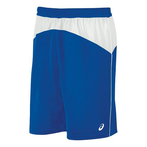 Mens ASICS X-Over Unlined Shorts - Royal/White M