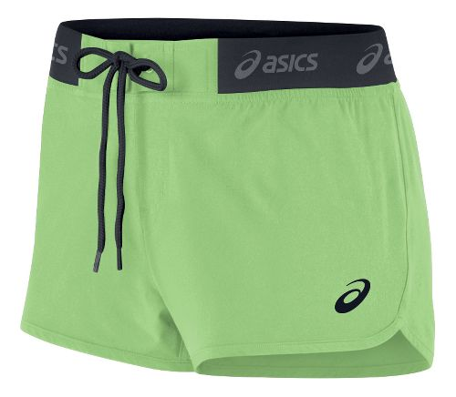 Womens ASICS Boardie Unlined Shorts - Lime L