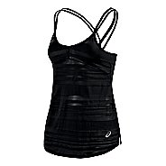 Womens ASICS Slub Sleeveless & Tank Technical Tops