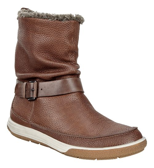 Womens Ecco Chase II Slouch GTX Boot Casual Shoe - Cocoa Brown 37