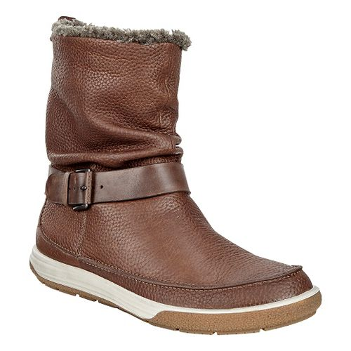 Womens Ecco Chase II Slouch GTX Boot Casual Shoe - Cocoa Brown 36