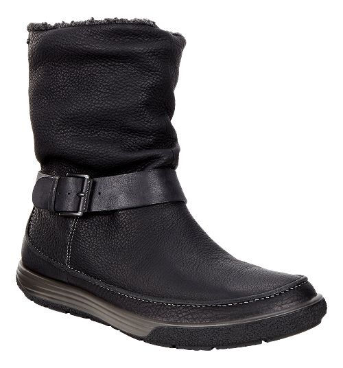 Womens Ecco Chase II Slouch GTX Boot Casual Shoe - Black/Black 41