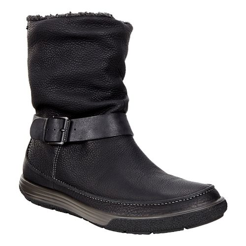 Womens Ecco Chase II Slouch GTX Boot Casual Shoe - Black/Black 38