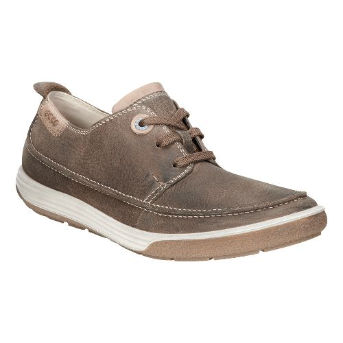 Womens Ecco Chase II Moc Tie Casual Shoe - Birch/Whisky 40