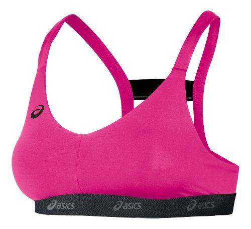 Womens ASICS Sports Bras - Pink Glo M
