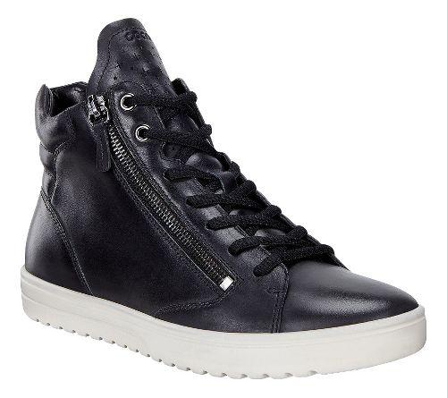 Womens Ecco Fara Sneaker Casual Shoe - Black 38