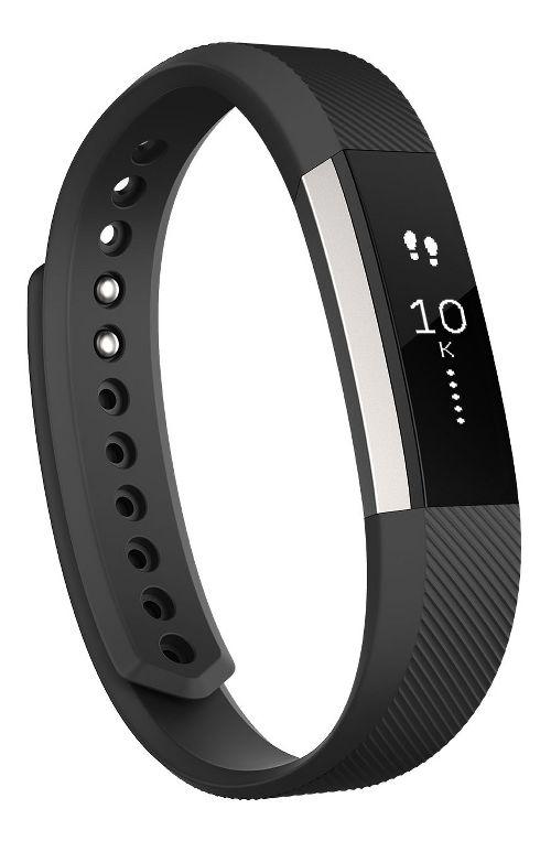 Fitbit Alta Fitness Wristband Monitors - Black L