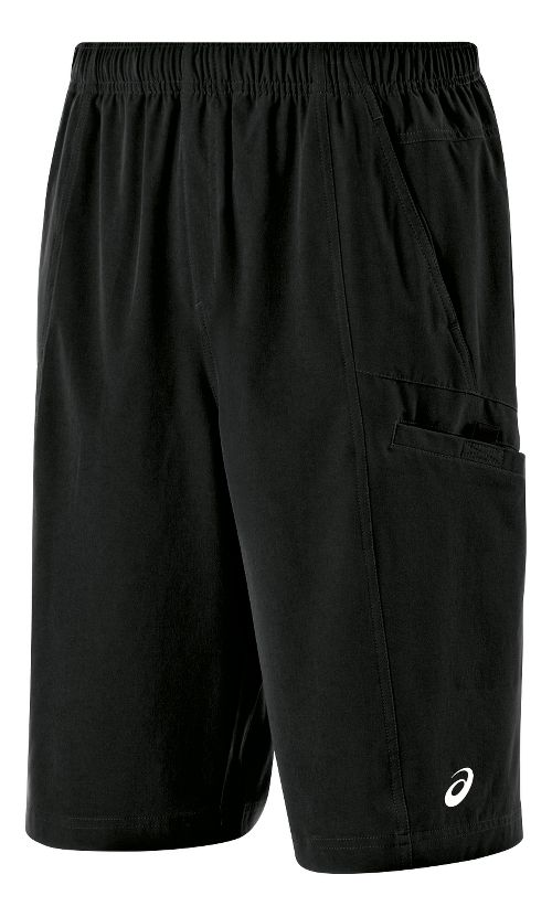 Mens ASICS Cargo Unlined Shorts - Black XXL