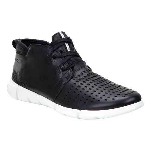 Womens Ecco Intrinsic Chukka Casual Shoe - Black 36