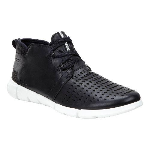 Womens Ecco Intrinsic Chukka Casual Shoe - Black 38