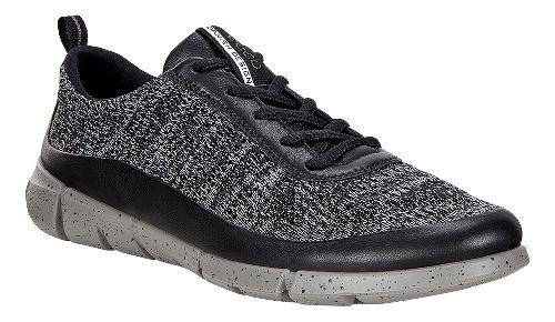 Womens Ecco Intrinsic Knit Casual Shoe - Black/Concrete 41