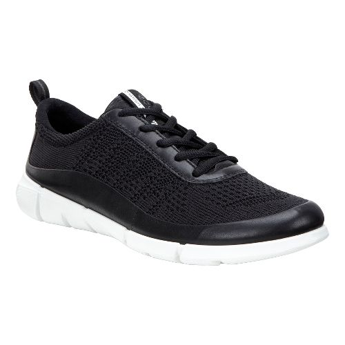 Womens Ecco Intrinsic Knit Casual Shoe - Black 38