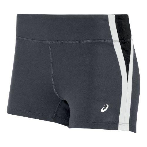 Womens ASICS Impulse Unlined Shorts - Grey/White S