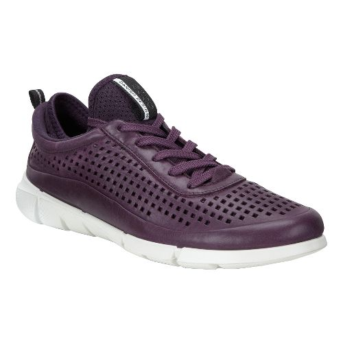 Womens Ecco Intrinsic Sneaker Casual Shoe - Mauve 36
