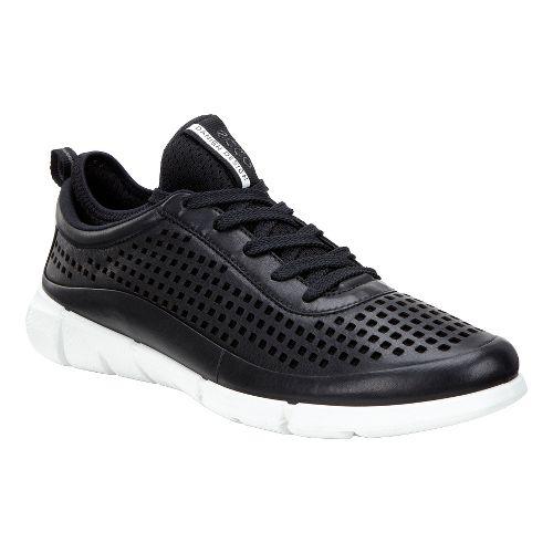 Womens Ecco Intrinsic Sneaker Casual Shoe - Black 40