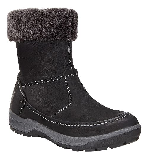 Womens Ecco Trace Lite Boot Casual Shoe - Black/Dark Shadow 38