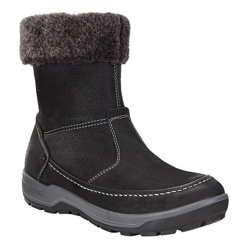 Womens Ecco Trace Lite Boot Casual Shoe - Black/Dark Shadow 37