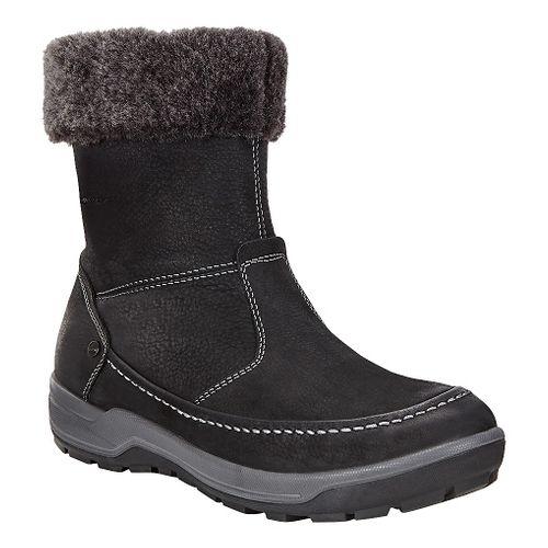 Womens Ecco Trace Lite Boot Casual Shoe - Black/Dark Shadow 38