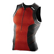 Mens 2XU Perform Tri Singlet Sleeveless & Tank Technical Tops