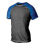 Mens 2XU Tech Vent 2 Tone Short Sleeve Technical Tops