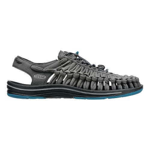 Mens KEEN Uneek Flat Casual Shoe - Raven/Ink 10