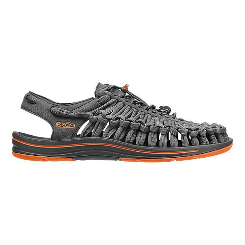 Mens KEEN Uneek Flat Casual Shoe - Gargoyle 9