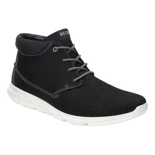 Mens Ecco Calgary High Casual Shoe - Black 47